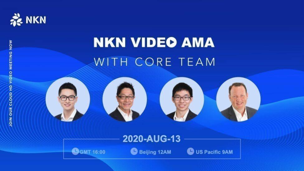 NKN Video AMA August 2020