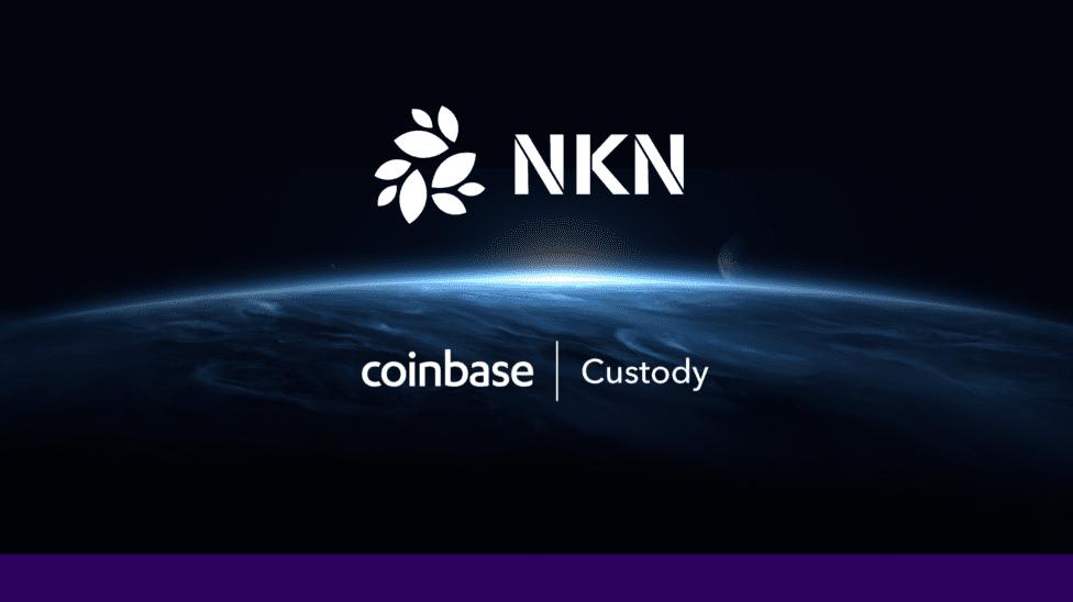 NKN Coinbase custody