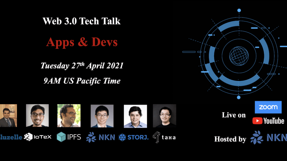 web 3.0 tech talk 2021 apps & devs